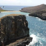 Blue Lagoon  From top of Arch Isla Soccoro